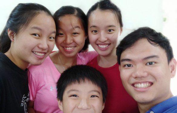 Group selfies in portrait mode