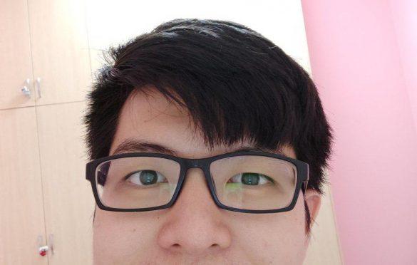 Selfie in regular mode