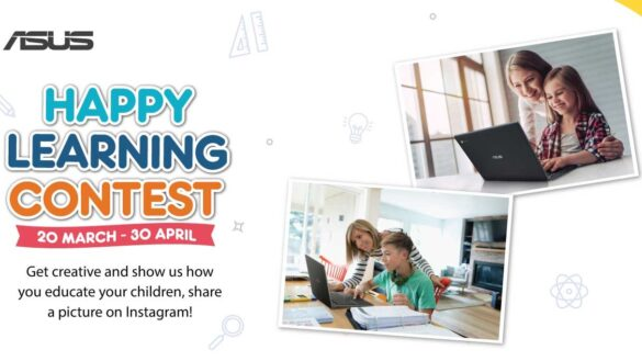 ASUS Happy Learning Contest Banner