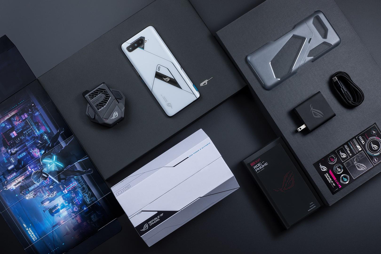 ROG Phone 5 series Storm White