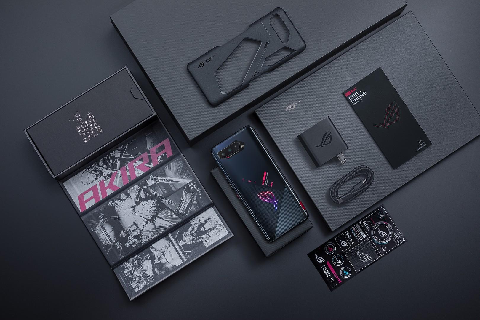 ROG Phone 5 series Phantom Black