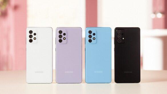 Samsung Galaxy A72, Galaxy A52, Galaxy A32