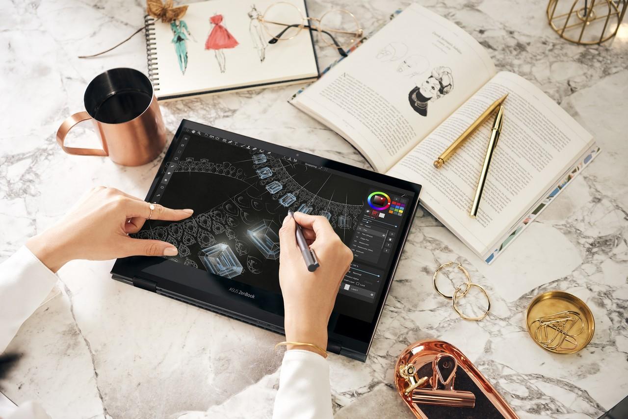 ZenBook Flip S (UX371) draw