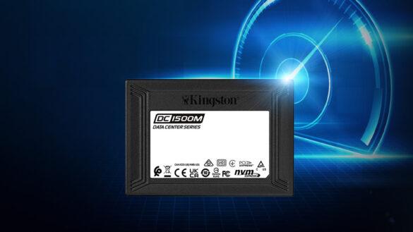 Kingston DC1500M Data Center U.2 NVMe SSD cover