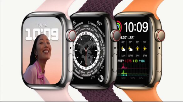 Apple Watch Series 7 cover