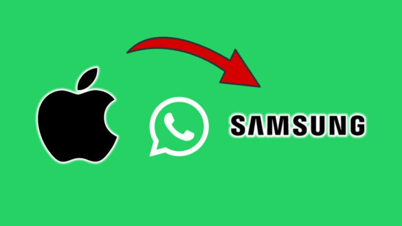 Transfer WhatsApp Data From iPhone To Samsung