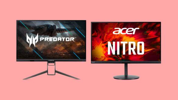 Predator XB323QK NV and Nitro XV282K KV cover
